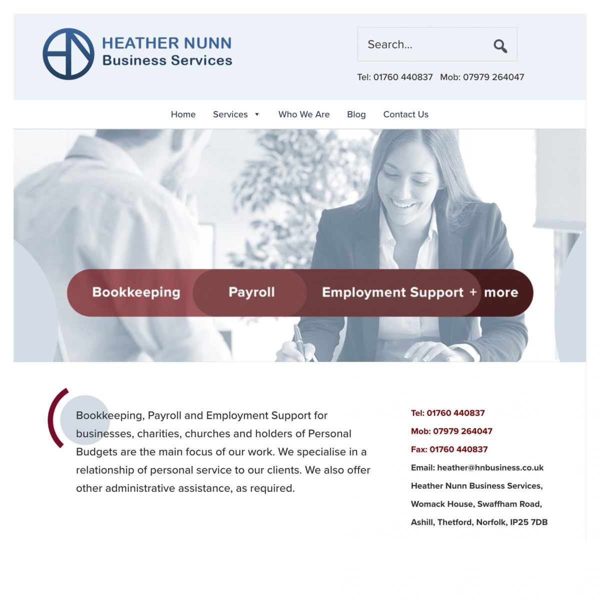 HNBS screenshot