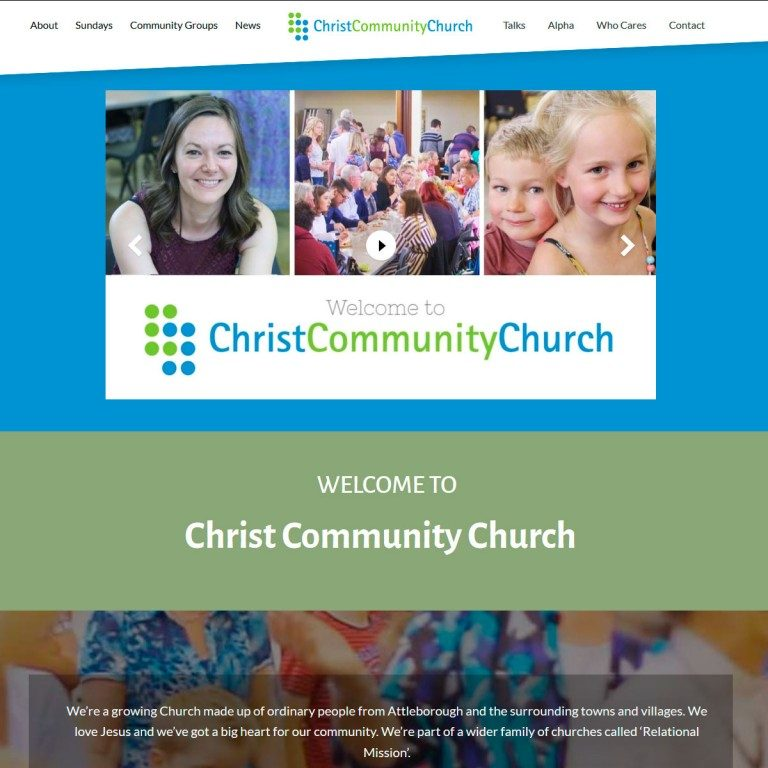 Christ-Community-Church-website